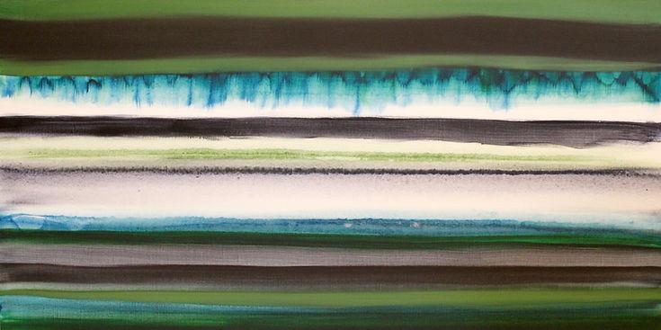 Layered Earth With Rain by artist Shina Reynolds