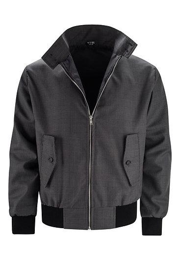 Mens Classic Harrington Jacket DARK/GRAYCHECK