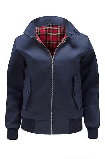 Ladys Classic Harrington Jacket NAVY