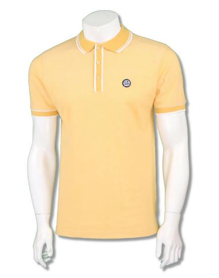Plain Oxford Pique Polo SS/2268 Lemon