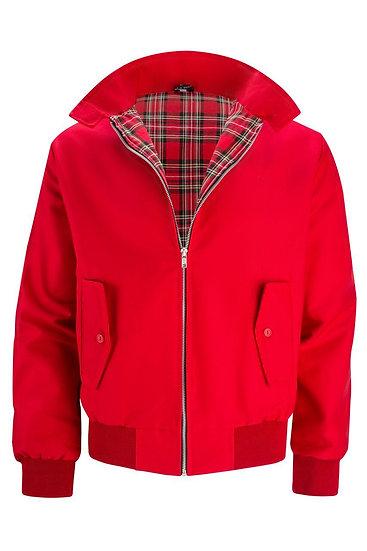 Mens Classic Harrington Jacket RED