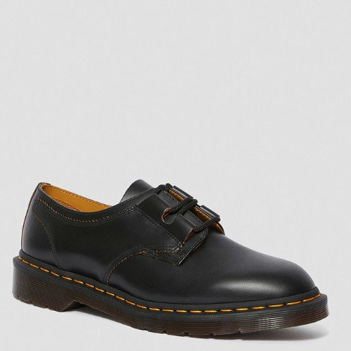 ARCHIVE 1461 GHILLIE SHOES BLACK VINTAGE SMOOTH 22695001