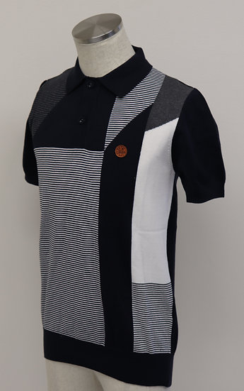 Ska & Soul Polo Shirt SS2154 Navy