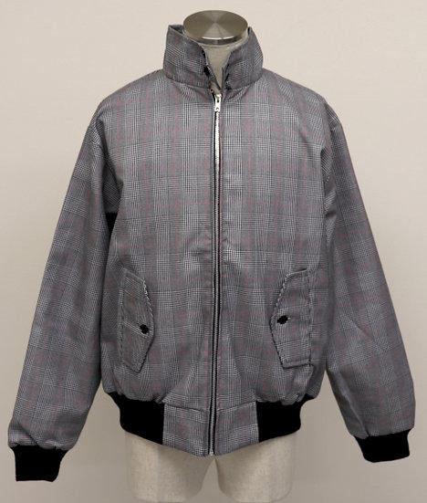 Mens Classic Harrington Jacket LIGHT/GRAYRED