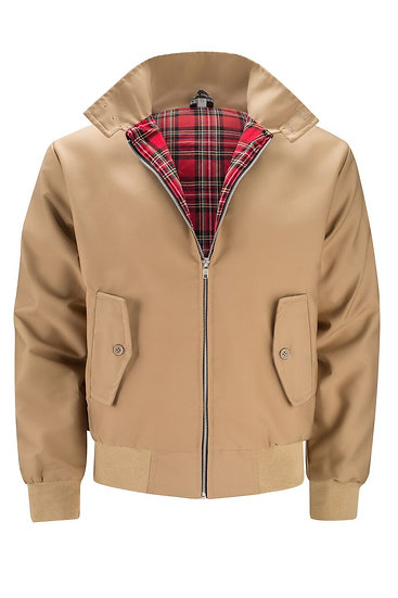Mens Classic Harrington Jacket CAMEL