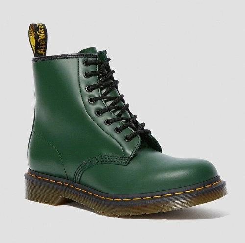1460 8EYE BOOTS GREEN SMOOTH 11822207