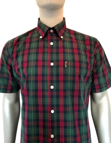 Trojan Tartan Check B/D Shirt TC/1004 Forest