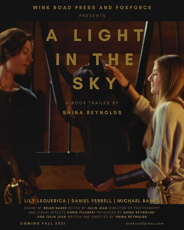 Official book trailer for young adult fantasy book, A Light in the Sky. Written and directed by author Shina Reynolds.