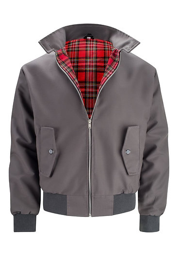 Mens Classic Harrington Jacket GRAY