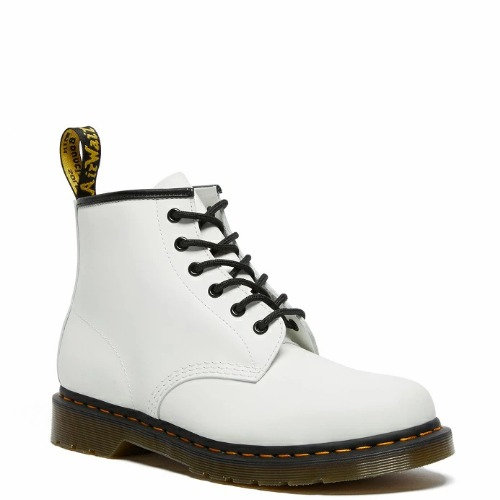 101 YS 6EYELET BOOTS WHITE SMOOTH 26366100