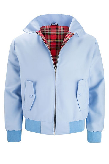 Mens Classic Harrington Jacket LIGHT/BLUE