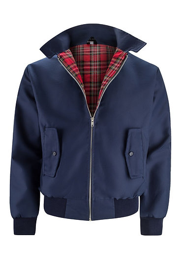 Mens Classic Harrington Jacket NAVY