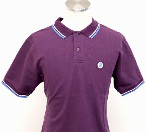 Trojan Polo Shirt TR8378 Plum