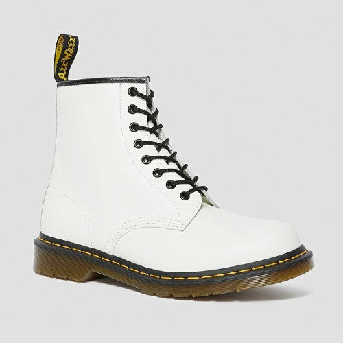 1460 8EYE BOOT WHITE SMOOTH 11822100