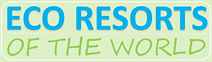 ECO RESORTS OF THE WORLD logo green bkgr