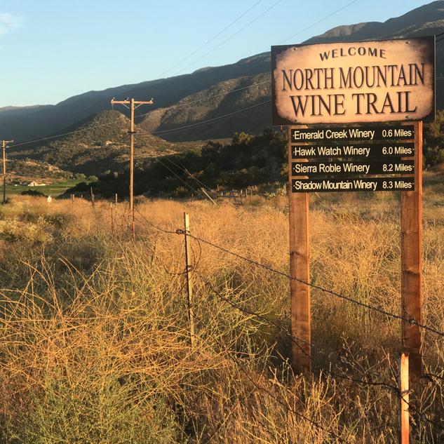 NORTH MOUNTAIN WINE TRAIL