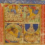 Eadwine psalter—Morgan leaf M.521 (recto)