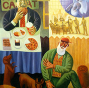 """""""Rich Man and Lazarus"""" by James Janknegt"""
