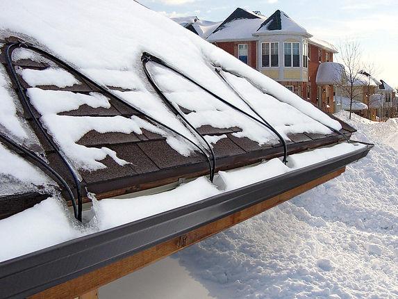 Электрообогрев крыши