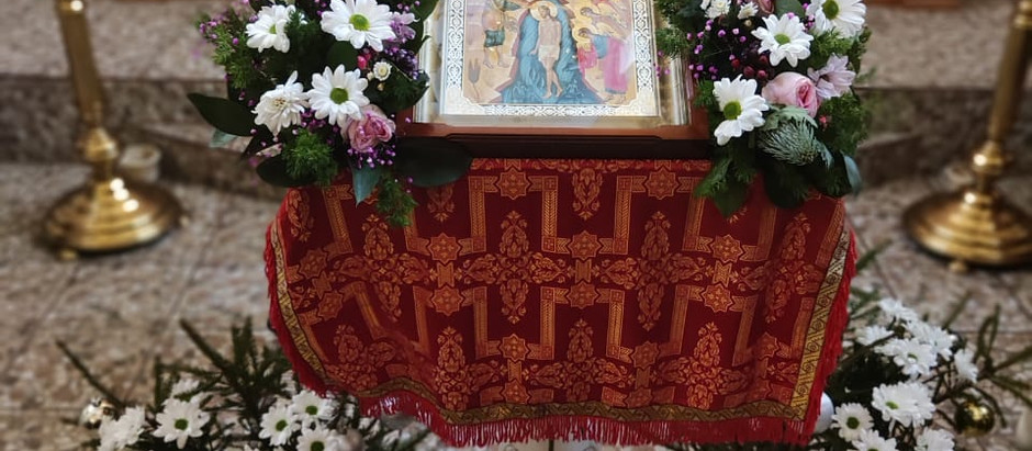 Святое Богоявление и Великое освящение воды в храме великомученика Димитрия Солунского
