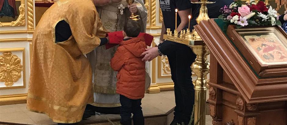 Рождественский сочельник в Храме равноапостольного князя Владимира