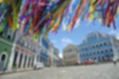 Street view in Salvador, Bahia