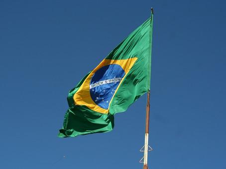 Brazilian flag, a national symbol