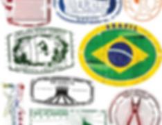 Brazilian Passport stamps