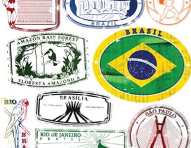 Brazilian Passport stamps