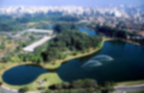 São Paulo aerial view