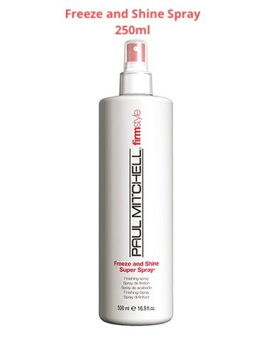 Paul Michell Freeze and Shine Spray 250ml