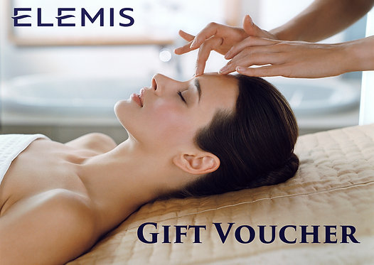 Elemis Facial Voucher in a gift box