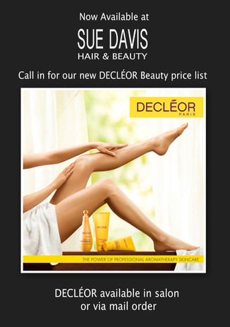 Decleor is now available In Sue Davis