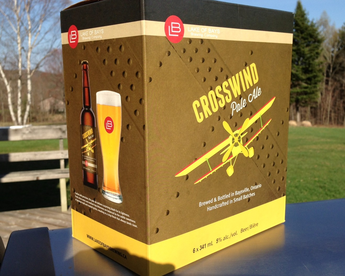 Crosswind beer!