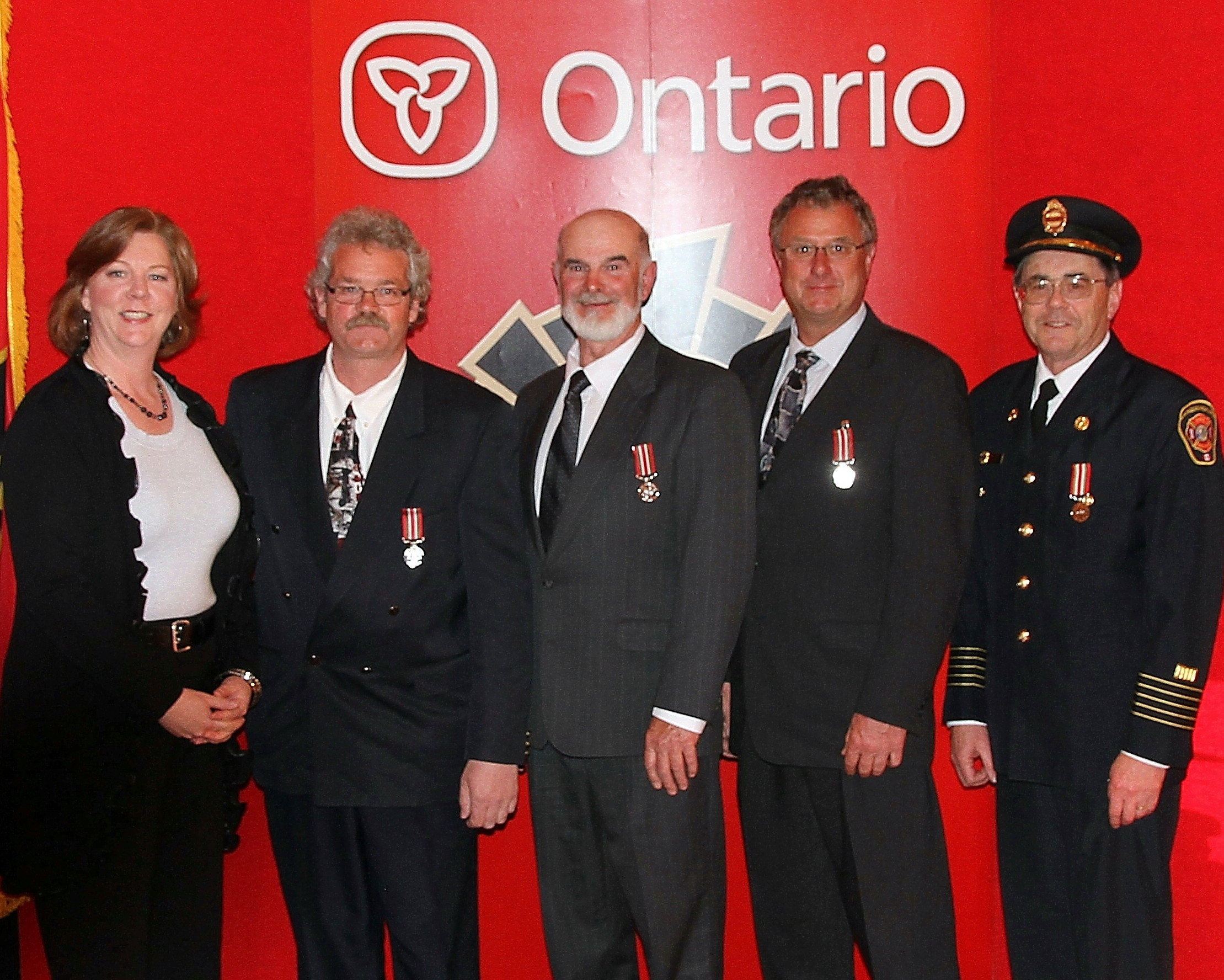 2011 OFM long service awards