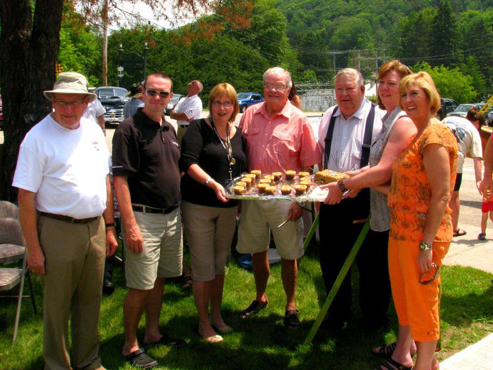 Celebrating Canoe FM's anniversary