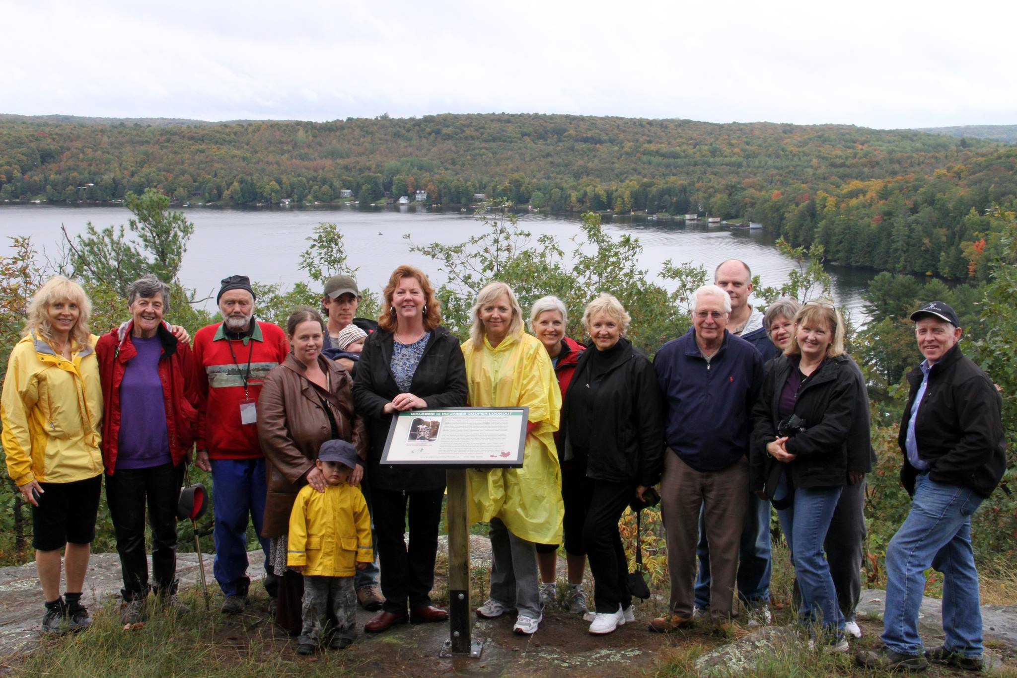 2013 Cooper Lookout re-dedication