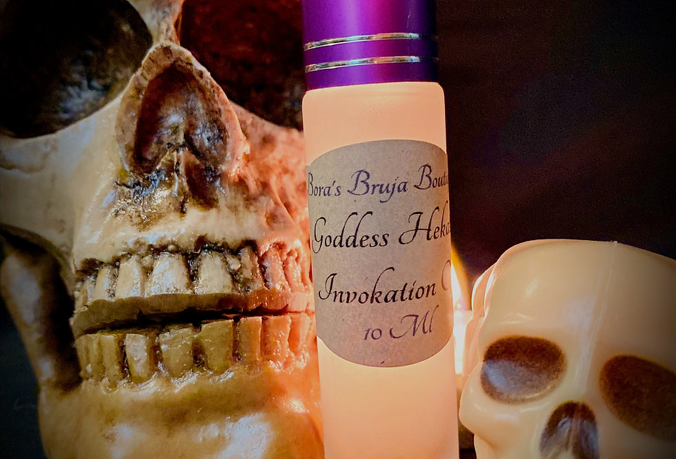 Goddess Hekate Invokation Oil