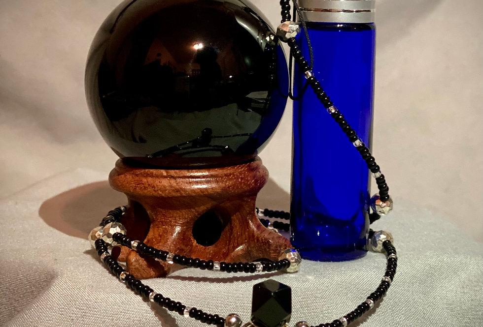 Black Obsidian Crystal Protection Talisman Bundle