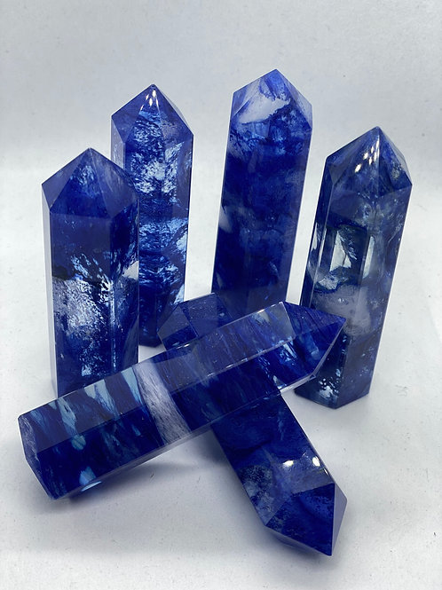 Blue Smelting Crystal Tower
