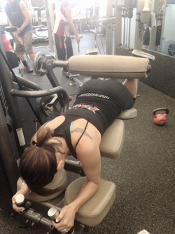 Prone Hamstring Curl (machine)