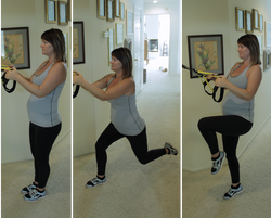TRX Lunge to Knee Drive/Extension