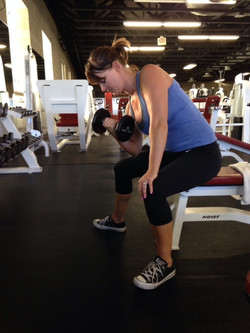 Isolated Bicep Curl (DB)