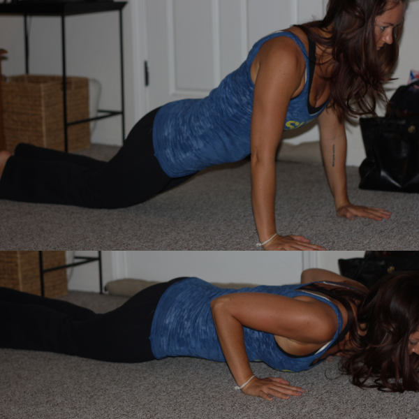 Modified Push Up (knees)