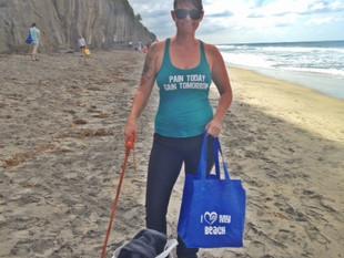 Moonlight Beach Clean up