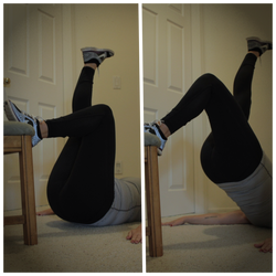SL Inclined Glute Lift