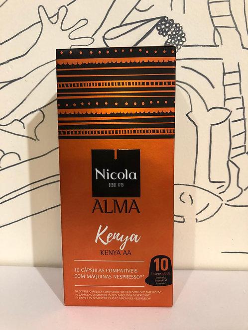 Nicola coffe capsules - Kenya
