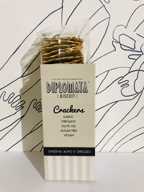 Diplomata Crackers - Garlic and Oregano