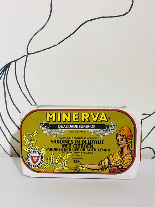 Sardines in Olive oil with Lemon