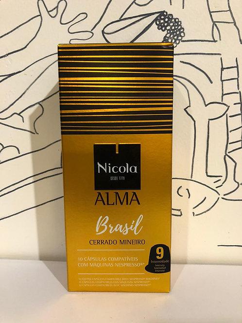 Nicola coffee capsules - Brasil